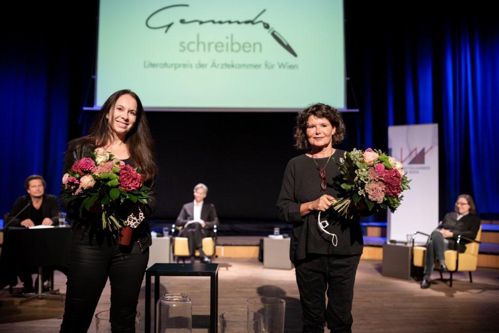 v.l.n.r.: Isabella Straub, Gabriele Kögl